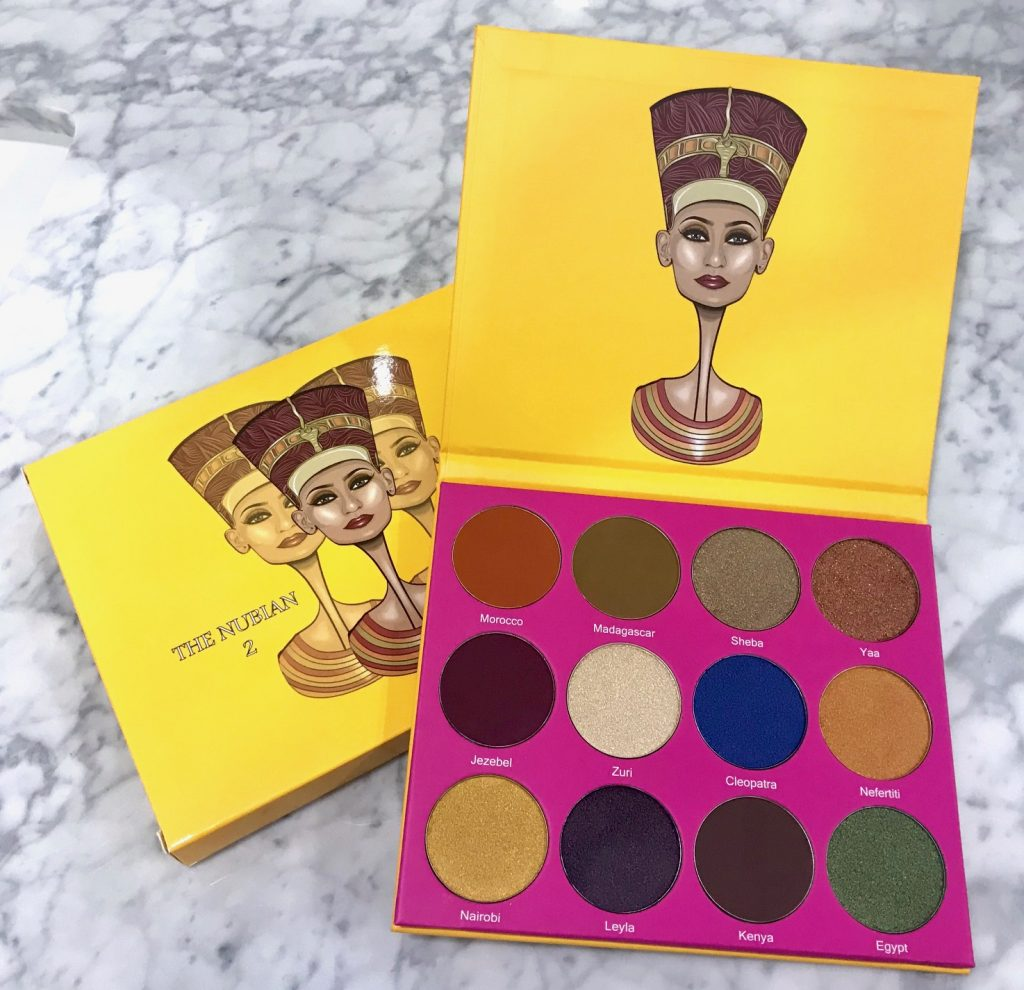 Juvia's Place The Nubian 2 Eyeshadow Palette 01