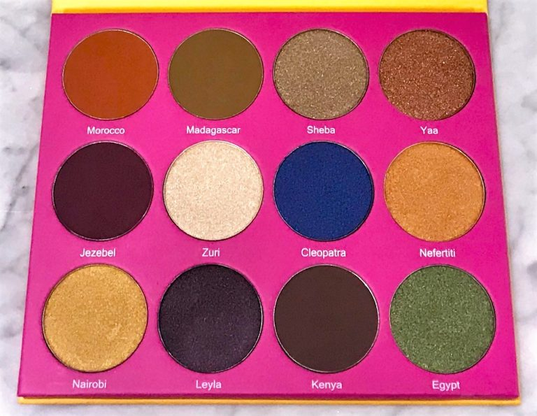Juvia's Place The Nubian 2 Eyeshadow Palette 04