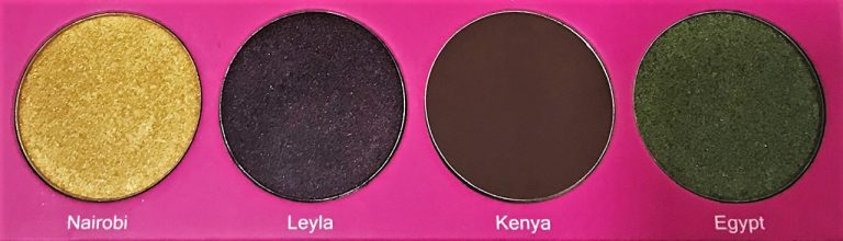 Juvia's Place The Nubian 2 Eyeshadow Palette 10